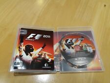 PS3 Game F1 2011