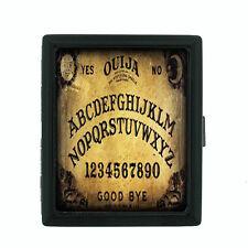 Ouija Board D5 Regular Black Cigarette Case / Metal Wallet Talking Spirit Witch