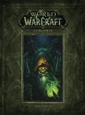 WORLD OF WARCRAFT CHRONICLE NEW HARDCOVER BOOK