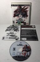 NCAA Football 12 (Sony PlayStation 3, 2011) PS3 Complete CIB Tested