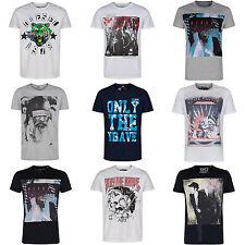 Camisetas de hombre de manga corta color principal negro talla XXL