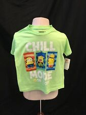 cfc2eb3c2 Despicable Me Minion Boys Size 7 T shirt Short Sleeve Lime Green