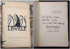 Carrera LE VELE Autografato anni Venti Casa dei Poeti Illustrato Francesco Gamba