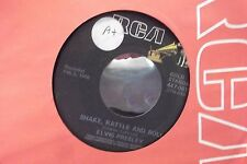 45? ELVIS ON RCA RECORDS SHAKE,RATTLE & ROLL / LAWDY MISS CLAWDY
