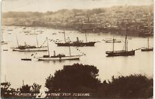 Falmouth Harbour & Town from Flushing by Bragg.
