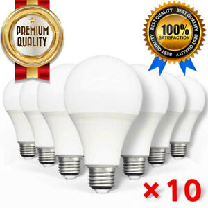 🔥10pcs LED Bulb Light Lamps E27 Ac220v 240v 3w 5w 9w 12w 15w 18w 20w For Rooms