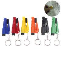 Emergency Safety EscapeCar Window GlassBreaker Hammer Keyring Seat Belt Cutter
