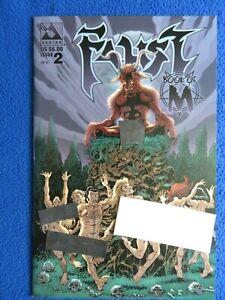 FAUST BOOK OF M #2 VARIANT   AVATAR PRESS  1999  TIM VIGIL
