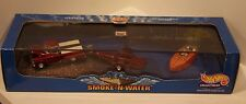 Hot Wheels Smoke 'N Water '59 Chevy Apache Fleetside, Trailer, Crackerbox Boat