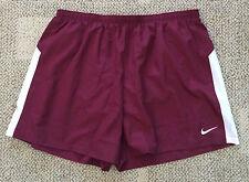 Mens Size XXL 2XL Maroon Dri-Fit Dash Running Shorts Liner Athletic 453187 670