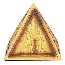 Pyramide Hieroglyphenzeichen in  gold Ägypten Altägypten
