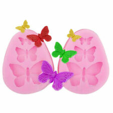 Silicone Butterfly Mold Fondant Cake Decorating Mould Cupcake Baking Mold Tool