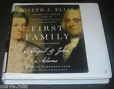CD First Family/Joseph J Ellis Read/Kimberly Farr President John Adams Abigail