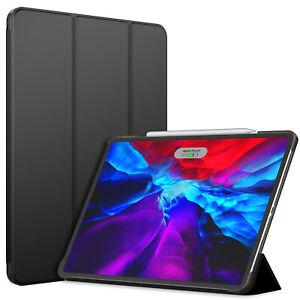 "JETech Case for iPad Pro 12.9"" (4th Gen 2020 Model) Cover Auto Wake/Sleep Black"