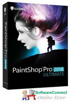 COREL PAINTSHOP PRO 2018 ULTIMATE PAINT SHOP PRO NEW SEALED GENUINE GUARANTEE