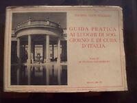 1936 (s) GUIDA T.C.I. AI  PAESI IDROTERMALI D'ITALIA TERME ITALIANE