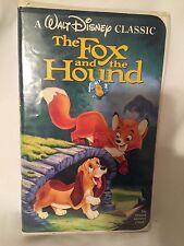Fox and The Hound Black Diamond Classic Walt Disney Original VHS Movie