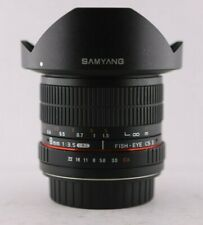 Samyang 8mm f3.5 Fisheye CS II for Canon