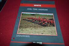 White Tractor Coil Tine Harrow Dealer's Brochure DCPA