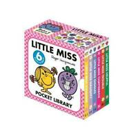 Little Miss 6 Books Pocket Library Roger Hargreaves  Little Miss Sunshine, Littl