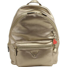 Guess Women's Cool School Leeza Gold Book Bag Backpack