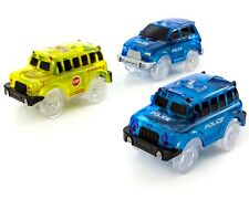Magic Tracks Cars Replacement Only Universal Glow in The Dark Race Car Set
