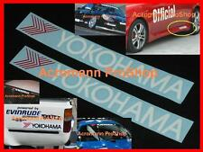"2x 8.5"" 21.6cm YOKOHAMA decal sticker advan sport tire tyre d1 drift WTCC vinyl"