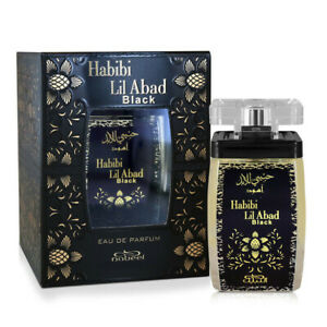 Habibi Lil Abad Black Womens Perfume Nabeel 100ml Eau De Parfum Fragrance
