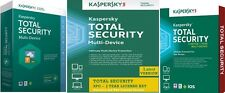 Kaspersky TOTAL SECURITY 2017 3 Device 1 Year MultiDevice Windows Mac Android PC