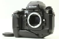 【Ex+5 FedEx】 Nikon F4 35mm SLR Film Camera Black Body From JAPAN  #097