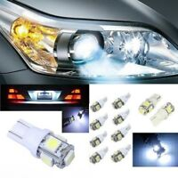 Bombillas T10 LED, 2/4/10, 5050 5SMD 5W5, DC12V, posicion, matricula. Car Bulbs
