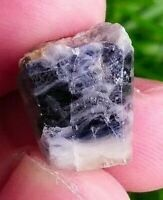 17ct, Natural Terminated Blue SAPPHIRE Crystal Badakshan Afghanistan, US SELLER