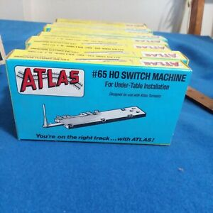 Ho Scale Atlas #65 Switch Machine For Under-Table Installation