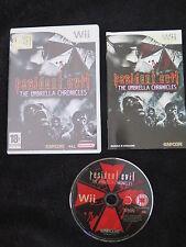 WII : RESIDENT EVIL : THE UMBRELLA CHRONICLES - Completo, ITA !  Comp con Wii U