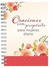 Oraciones Con Proposito Para Mujeres Diario Personal (Spiral Bound, Comb or Coil