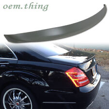 MERCEDES BENZ S CLASS W221 S550 S55 S65 S320 S420 TRUNK SPOILER A TYPE ABS ○