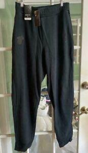 Men Nike NBA Miami Heat Sweatpants Black Basketball Comfort AV1631-010 Sz M-TALL