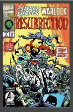 Silver Surfer-Warlock Resurrection #2 1993 VF (Marvel)