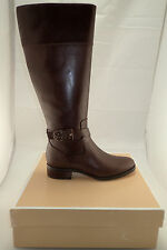 NIB Michael Kors MK 40F5BYMB8L BRYCE Mocha Tall Boots Size. 7 FREE GIFT LOOK!!!!