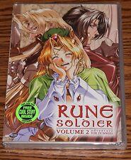 Rune Soldier - Vol. 2: Adventure for Dummies (DVD, 2003) R1 Action ADV BRAND NEW