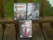 GRANDIA II/III/XTREME PS2 ALL  COMPLETE  very good  CONDITION.