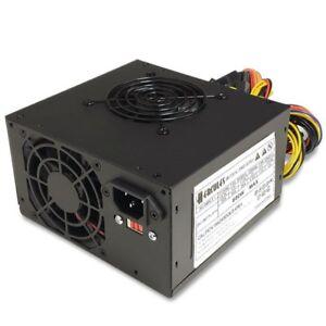Brand NEW--Hercules DUAL FAN 600w-Max ATX Power Supply SATA, 20+4-pin, 6-Pin