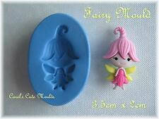 CAKE DECORATING: DETAILED CUTE FAIRY SILICONE MOULD CAKE TOPPERS