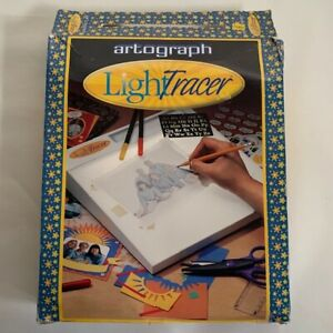 "VINTAGE 1997 ARTOGRAPH LIGHT TRACER LED LIGHT BOX 10""x 12"" SCREEN FOR TRACING"