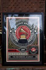 RARE Collectible Grammy Awards Poster Shepherd Fairey 52nd Annual GRAMMY Awards