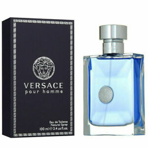 New Versace Pour Homme EDT Spray 3.4 oz / 100 ml MENS 100% Authentic .