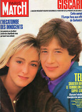 ** Paris Match n°1980 Rossellini / Alain Delon / Jean Michel Lambert