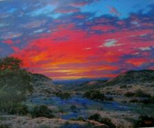 "Larry Dyke - Heaven's Glory  Signed  Image Size : 27"" x 22"""