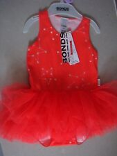 Bonds Xmas Tutu Dress (confetti Star Red Glo) - Size 0