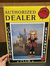 STEINBACH AUTHORIZED DEALER COLLECTORS CLUB SIGN